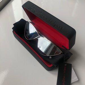 Le Specs The Fugitive Cat Eye Sunglasses BRAND NEW